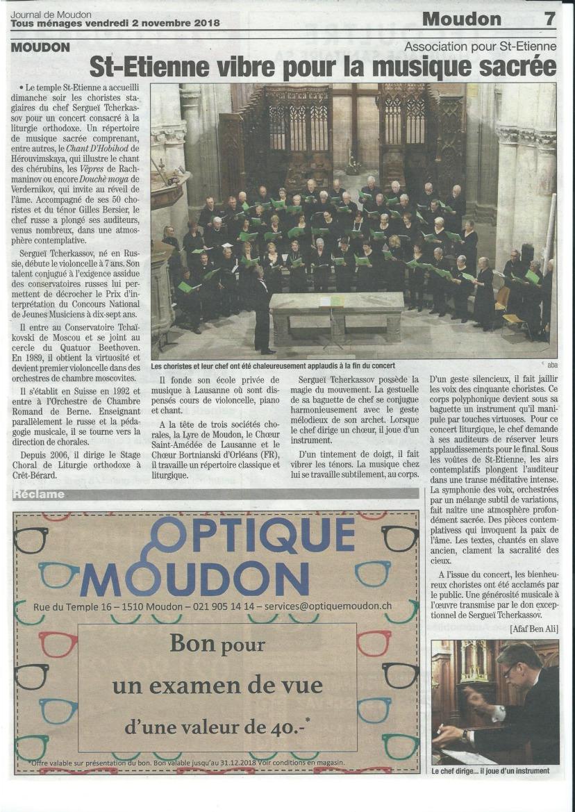 Article_Concert_Moudon_02.11.2018